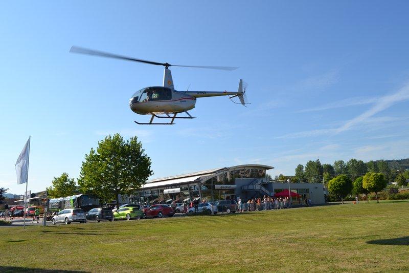 helikopter ranet pilot